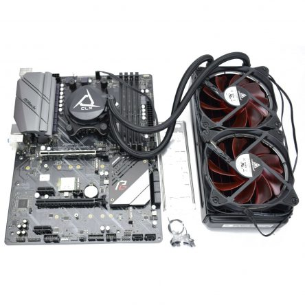 ASRock X570 Phantom Gaming 4 AM4 Motherboard w/ WIFI & liquid cooling