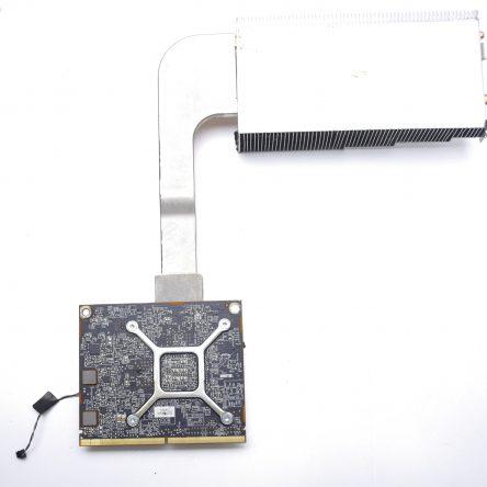 Apple iMac A1312 AMD Radeon HD 6770M 512MB Video Card 27″ w/ Heatsink TESTED