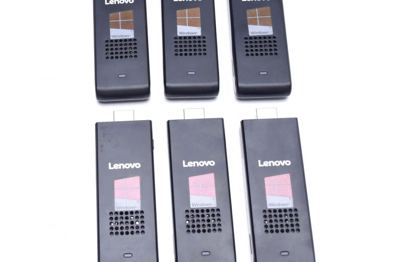 Lot of 6 pcs Lenovo Ideacentre Stick 300 Computer (90F20000US)