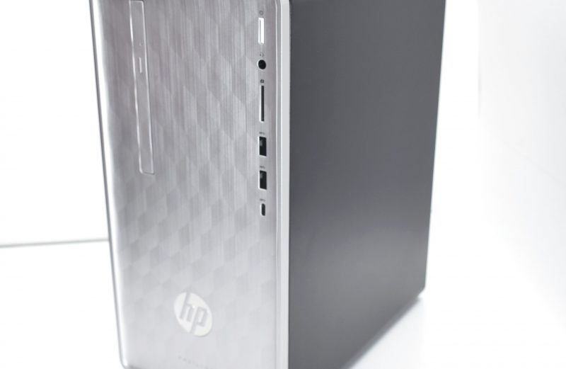 HP Pavilion 590-p0053w Chassis Case w/ Front Panel + Optical Drive + Case Fan