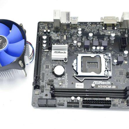 Asrock H310CM-IB Intel H310 1151 Micro ATX DDR4 Motherboard w/ CPU FAN