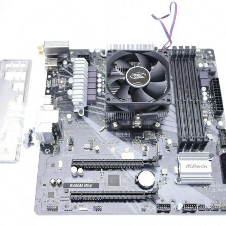 ASRock B450M-IBW AM4 AMD B450 Micro ATX AMD Motherboard w/ Heatsink TESTED