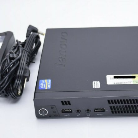 Lenovo ThinkCentre M92p USFF Core i5 Tiny Desktop 8GB RAM 120GB SSD Win10 Pro