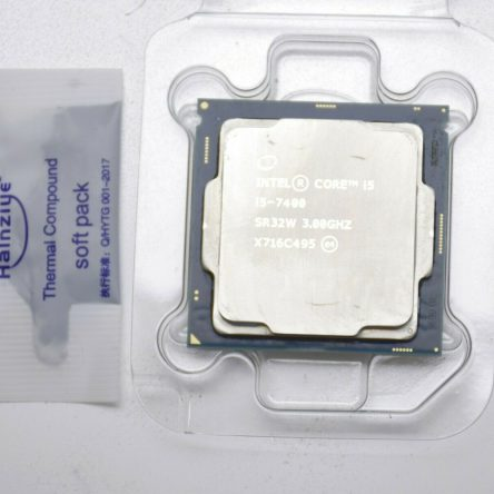 Intel Quad Core i5-7400 3GHz LGA 1151 Socket H4 SR332W CPU CM8067702867050